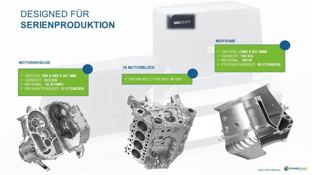Designed für Serienproduktion71 3D-Metalldruck, die industrielle, additive Fertigungsmöglichkeit